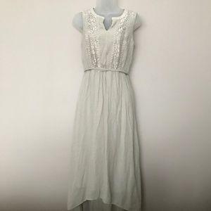Apt 9 Khaki High Low Sleeveless Dress - S